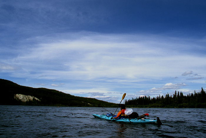 Paddling on Teslin River.jpg